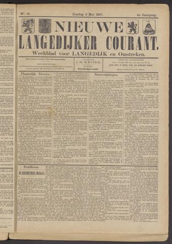 Nieuwe Langedijker Courant 1897-05-09