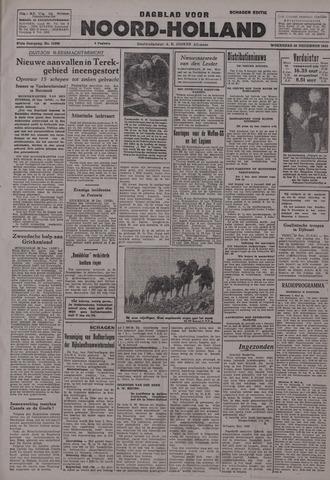 Dagblad Noord-Holland, Schager editie 1942-12-30