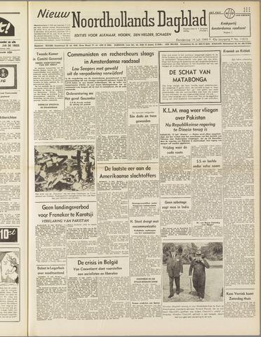 Nieuw Noordhollandsch Dagblad : voor Alkmaar en omgeving 1949-07-14