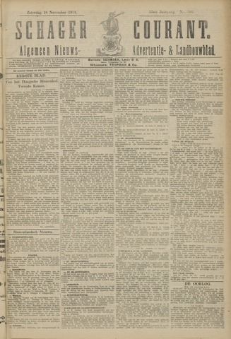 Schager Courant 1911-11-18