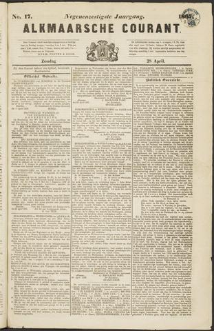 Alkmaarsche Courant 1867-04-28