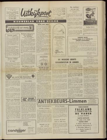 Uitkijkpost : nieuwsblad voor Heiloo e.o. 1974-04-17
