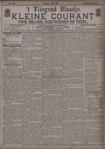 Vliegend blaadje : nieuws- en advertentiebode voor Den Helder 1887-05-07