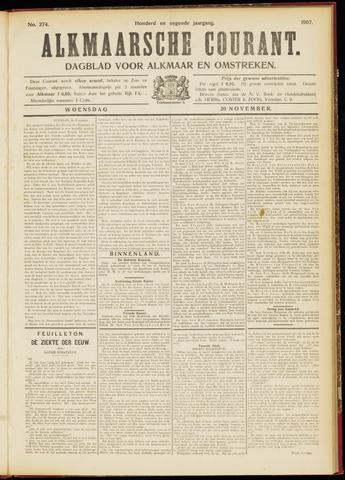 Alkmaarsche Courant 1907-11-20