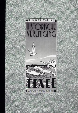 Uitgave Historische Vereniging Texel 1997-09-01