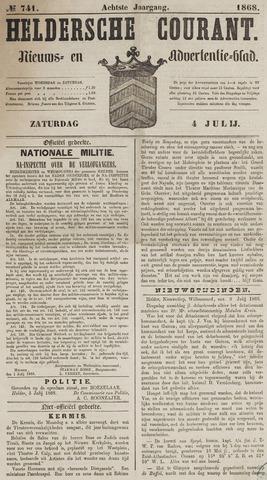 Heldersche Courant 1868-07-04