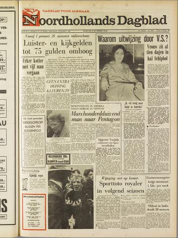 Noordhollands Dagblad : dagblad voor Alkmaar en omgeving 1967-10-20