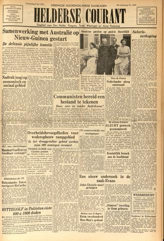 Heldersche Courant 1953-07-08