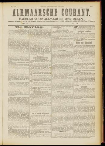 Alkmaarsche Courant 1915-07-27
