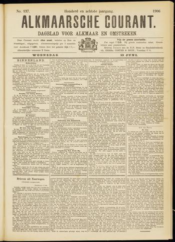 Alkmaarsche Courant 1906-06-13