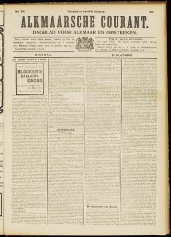 Alkmaarsche Courant 1910-11-29