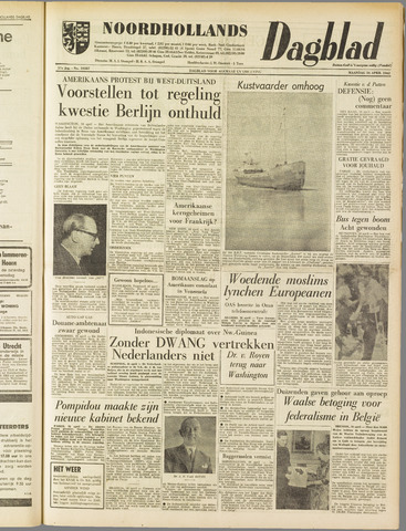 Noordhollands Dagblad : dagblad voor Alkmaar en omgeving 1962-04-16