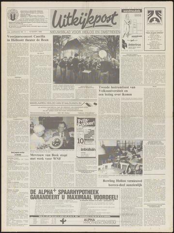 Uitkijkpost : nieuwsblad voor Heiloo e.o. 1988-03-16