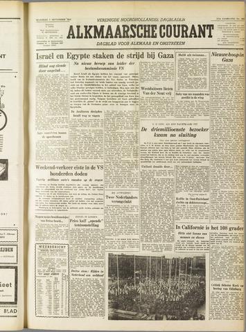 Alkmaarsche Courant 1955-09-05