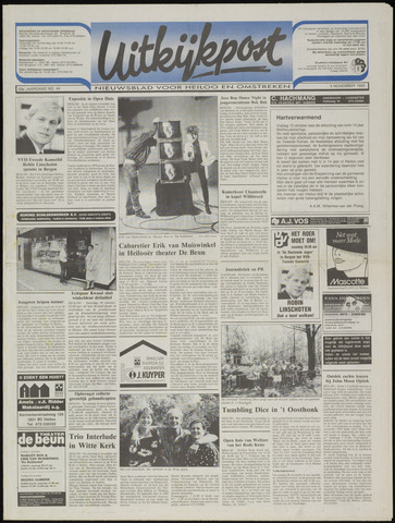 Uitkijkpost : nieuwsblad voor Heiloo e.o. 1993-11-03