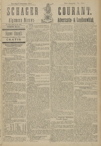 Schager Courant 1911-12-09