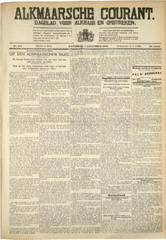 Alkmaarsche Courant 1930-11-08