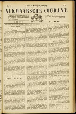 Alkmaarsche Courant 1885-01-25