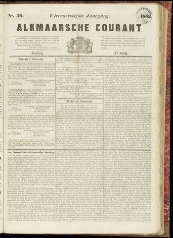 Alkmaarsche Courant 1862-07-27