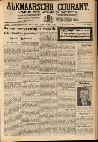 Alkmaarsche Courant 1934-10-12