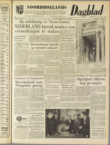 Noordhollands Dagblad : dagblad voor Alkmaar en omgeving 1962-04-28