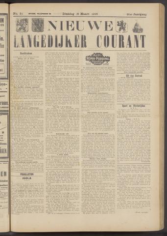 Nieuwe Langedijker Courant 1926-03-16