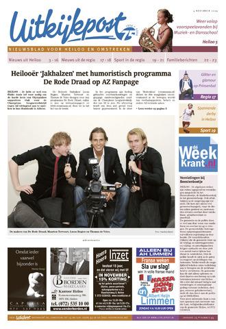 Uitkijkpost : nieuwsblad voor Heiloo e.o. 2009-11-04