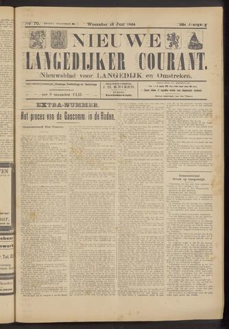 Nieuwe Langedijker Courant 1924-06-18