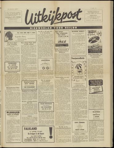 Uitkijkpost : nieuwsblad voor Heiloo e.o. 1971-04-19