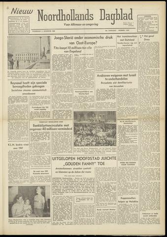 Nieuw Noordhollandsch Dagblad : voor Alkmaar en omgeving 1948-08-11
