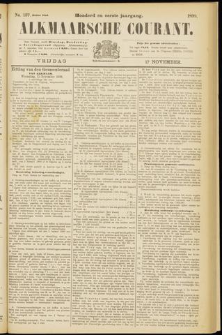 Alkmaarsche Courant 1899-11-17