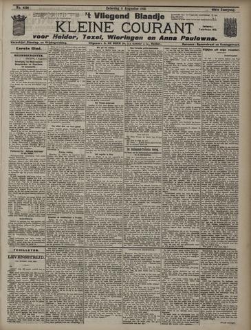 Vliegend blaadje : nieuws- en advertentiebode voor Den Helder 1912-08-03