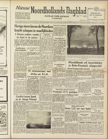 Nieuw Noordhollandsch Dagblad : voor Alkmaar en omgeving 1951-12-10