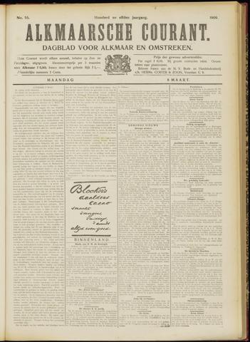 Alkmaarsche Courant 1909-03-08