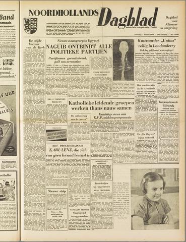 Noordhollands Dagblad : dagblad voor Alkmaar en omgeving 1953-01-17