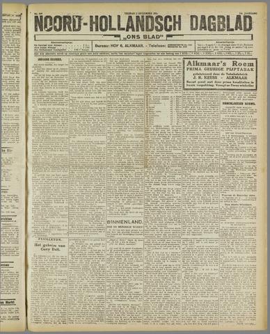 Ons Blad : katholiek nieuwsblad voor N-H 1921-12-02