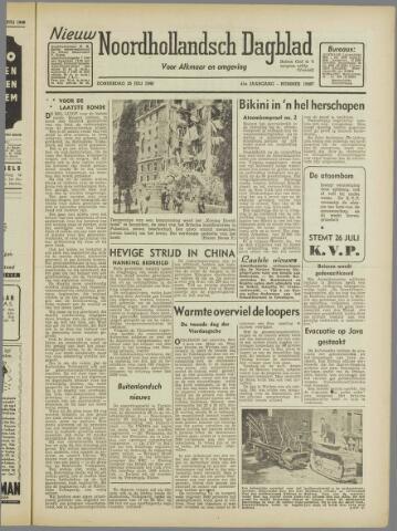 Nieuw Noordhollandsch Dagblad : voor Alkmaar en omgeving 1946-07-25
