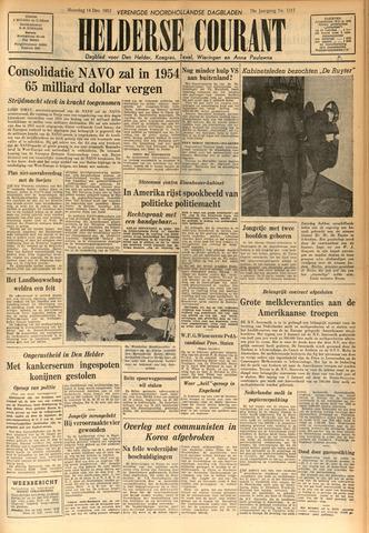 Heldersche Courant 1953-12-14
