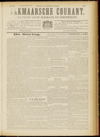 Alkmaarsche Courant 1915-11-17