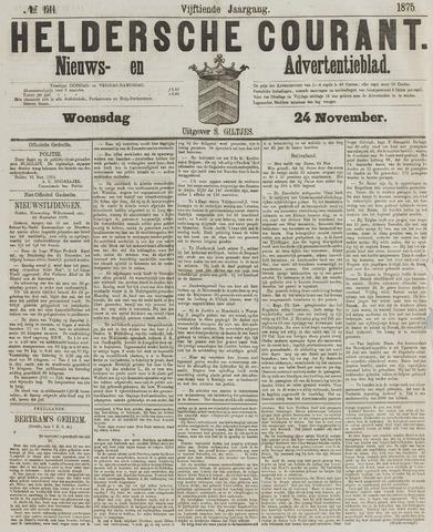 Heldersche Courant 1875-11-24