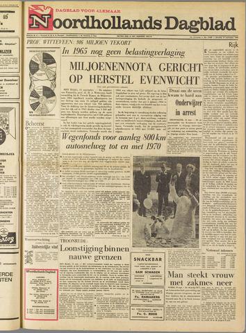 Noordhollands Dagblad : dagblad voor Alkmaar en omgeving 1964-09-15
