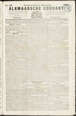 Alkmaarsche Courant 1867-09-26