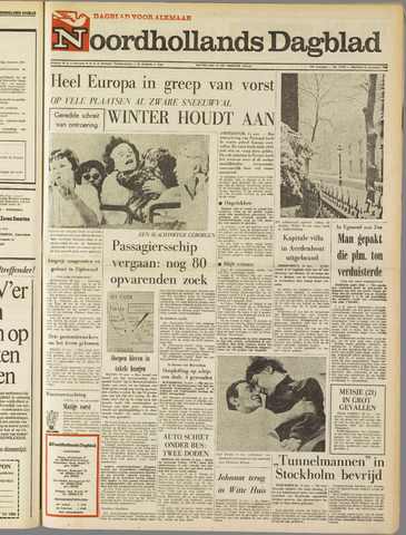 Noordhollands Dagblad : dagblad voor Alkmaar en omgeving 1965-11-15