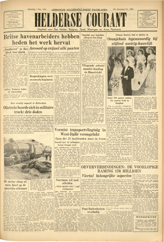 Heldersche Courant 1954-11-01