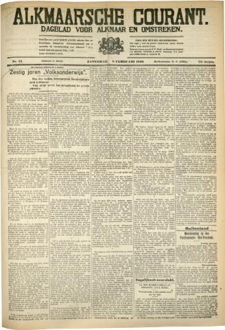 Alkmaarsche Courant 1930-02-08
