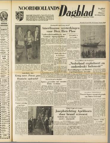 Noordhollands Dagblad : dagblad voor Alkmaar en omgeving 1954-04-21