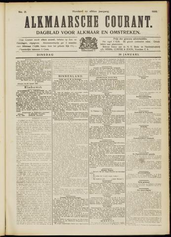 Alkmaarsche Courant 1909-01-26