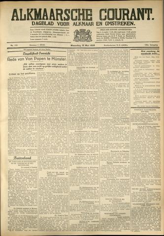 Alkmaarsche Courant 1933-05-16