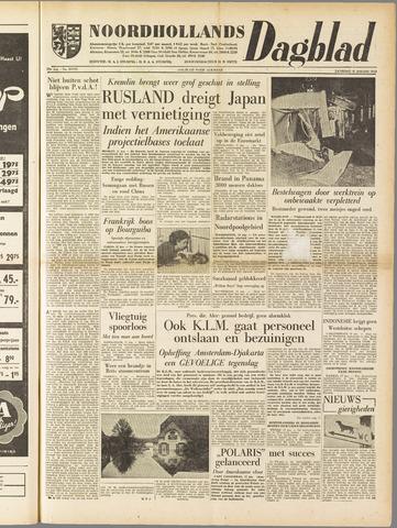 Noordhollands Dagblad : dagblad voor Alkmaar en omgeving 1958-01-18