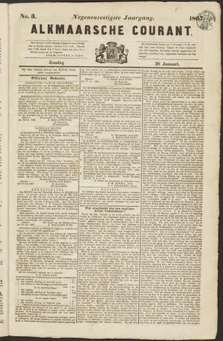Alkmaarsche Courant 1867-01-20